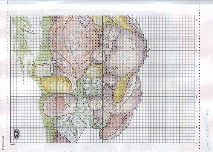 Схема вышивки для детей ежик