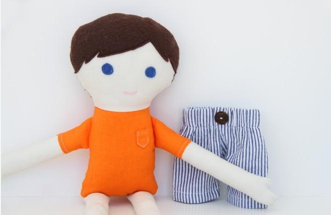 Как одеть куклу своими руками