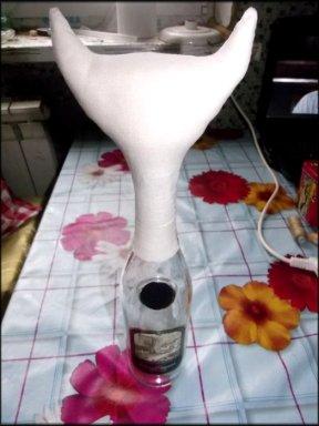 Коты из бутылки и шпагата