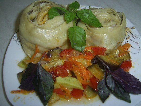 Капрезе с моцареллой и соусом песто рецепт