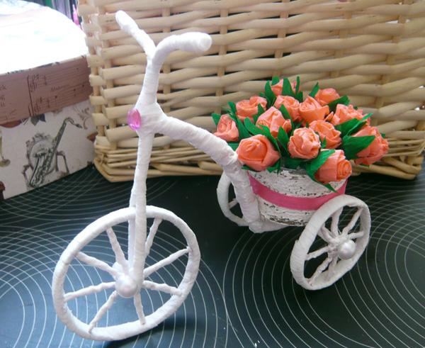 Велосипед с кашпо своими руками