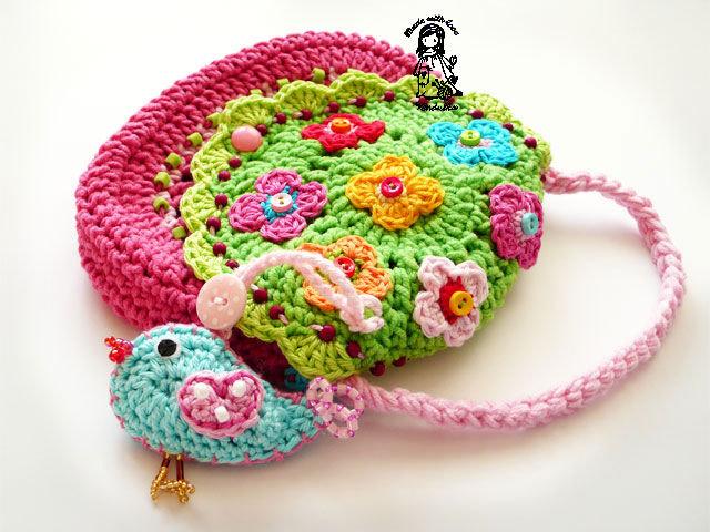 радужное вязание крючком идеи блог домохозяйки