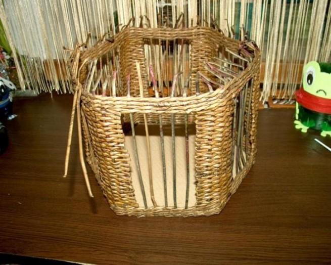 Плетеный домик для птиц своими руками 100