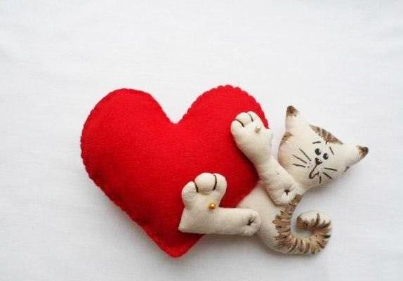 Мягкие игрушки своими руками для любимого