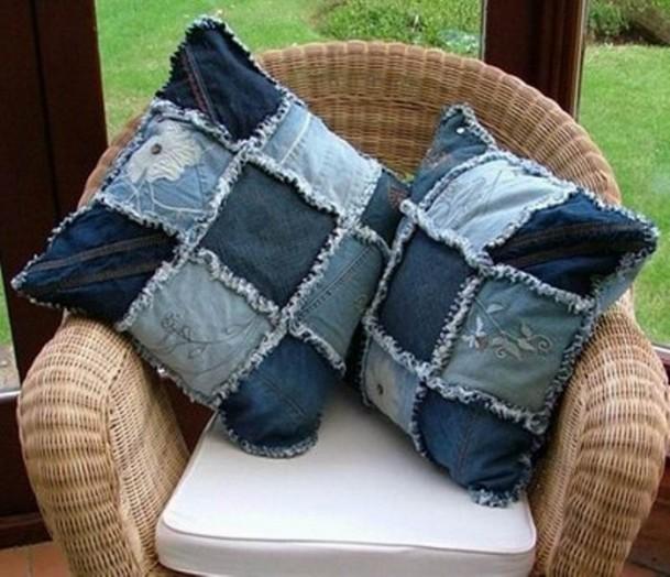 Пэчворк из джинс своими руками