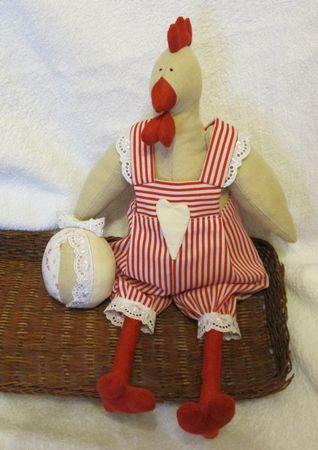 Шитье курицы тильды мастер класс фото #2