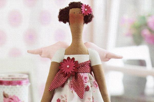 Тильда Ангел в пижамке фото-мастер-класс выкройка