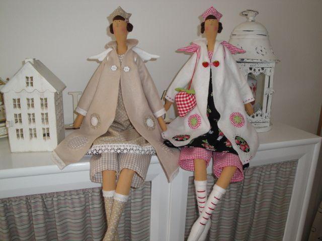 Выкройка кукла тильда кофейная фея