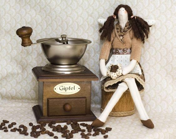 Тильда кофейная фея
